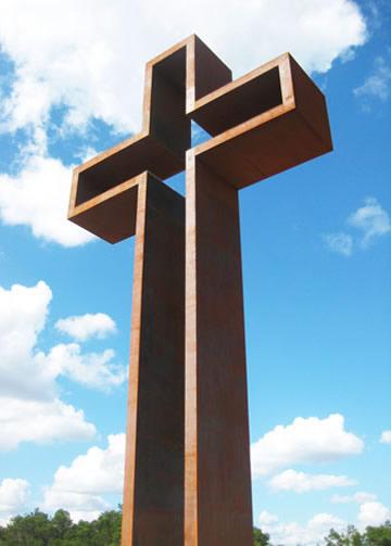 """""""The Empty Cross""""™   Christian Bronze Sculptures   Jesus ... Empty Cross Painting"""