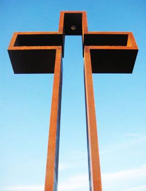 "77' 7"" ""The Empty Cross""™ in Kerrville, TX"